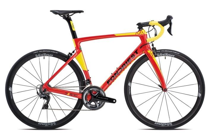 Bicicletta da corsa da competizione