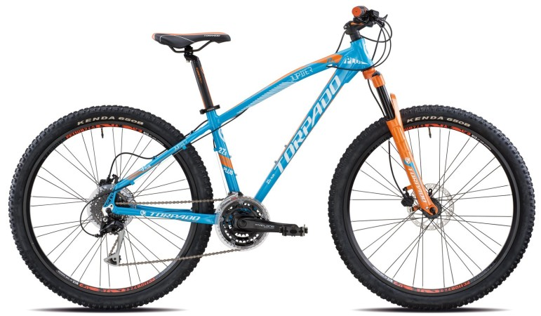 "Mountain bike 27,5"" hardtail front"