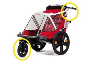 """Bellelli B-Travel kit conversione urban 12"""""""