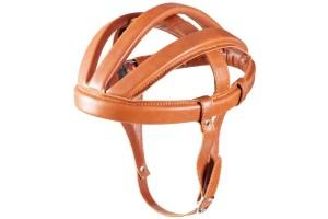 Brn casco da ciclismo vintage