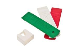 Levagomma in plastica, serie da 3 pezzi.