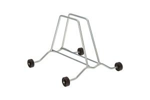 Brn Portaciclo a terra con rotelline