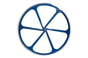 Brn ruote Fixed in alluminio