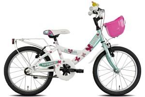"""Torpado Ketty T661, bicicletta 18"""" da bambina"""
