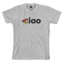 CINELLI CIAO T-SHIRT - GRIGIO