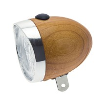 LUCE BRN 3 LED IN LEGNO  ROVERE