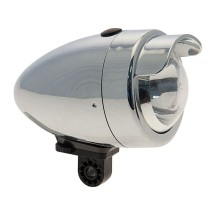 BRN 1 LED VINTAGE EYE 50 mm - SILVER