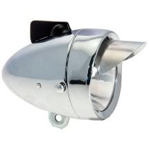 BRN 1 LED VINTAGE EYE 75 mm - SILVER