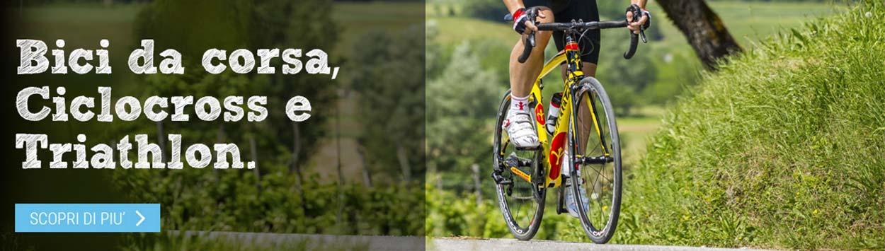 Bici da corsa ciclocross e Triathlon